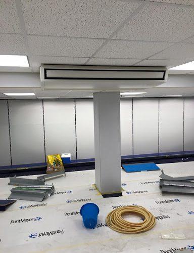 Plafond onderbouw units