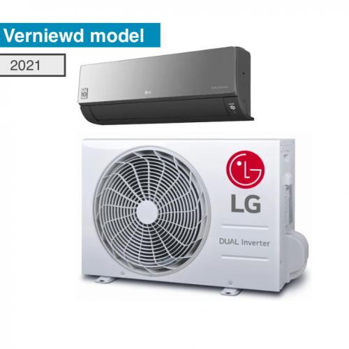 LG AC09BH AC12BH AC18BH AC24BH Artcool Black Mirror inverter R32